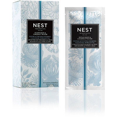 Ocean Mist & Coconut Water-Activated Foaming Cleansing Towelettes