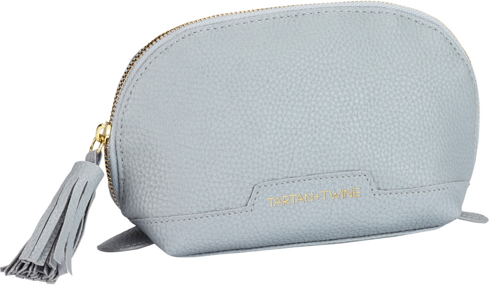 Elevated Gray Small Clutch by Tartan + Twine