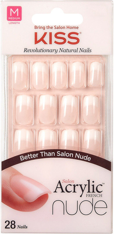 Cashmere Salon Acrylic French Nude Nails