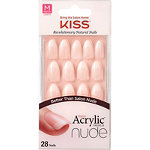 Kiss Sensibility Salon Acrylic French Nude Nails