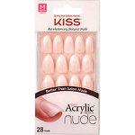 Kiss Sensibility Salon Acrylic French Nude Nails