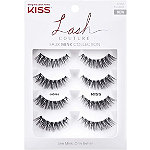 Kiss Lash Couture Faux Mink, Jubilee Multipack