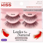 Kiss Looks So Natural Lash, Graceful Double Pack