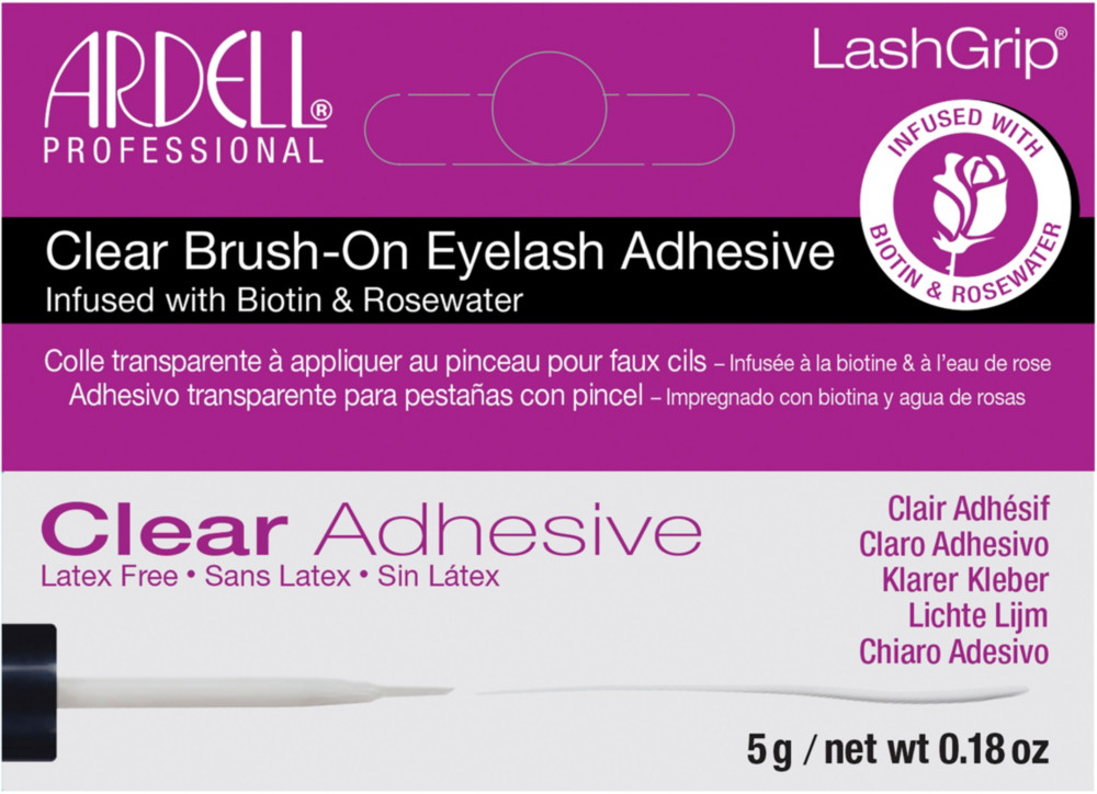 Ardell Lashgrip Clear Brush On Natural Eyelash Adhesive Ulta Beauty