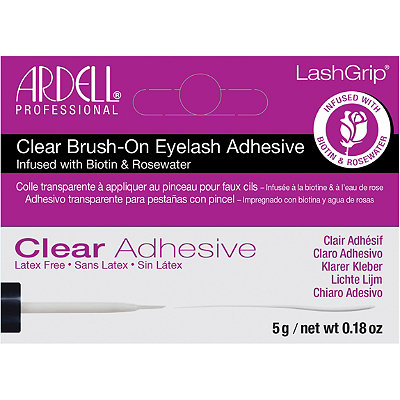 LashGrip Clear Brush-On Natural Eyelash Adhesive