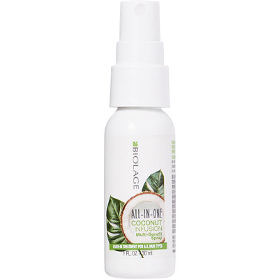 Travel Size Biolage All-In-One Coconut Infusion Multi-Benefit Spray