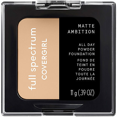 Online Only Full Spectrum Matte Ambition All Day Powder Foundation