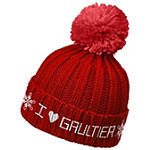 Jean Paul Gaultier Online Only FREE Knitted Beanie with any large spray purchase from the Jean Paul Gaultier fragrance collection