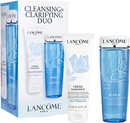 Lancôme Bi-Facil and Crème Radiance Cleansing and Clarifying Duo ...