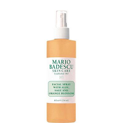 Facial Spray with Aloe, Sage and Orange Blossom