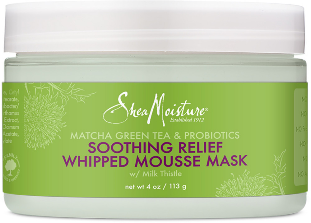 Matcha Green Tea & Probiotics Redness Relief Whipped Mousse Mask