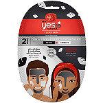 Yes to Tomatoes Yin & Yang Detoxifying & Hydrating Black & White Charcoal Double Masking Kit