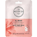 Botanics All Bright Brightening Sheet Mask