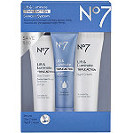 No7 Travel Size Lift & Luminate Triple Action Anti-Aging Skincare System