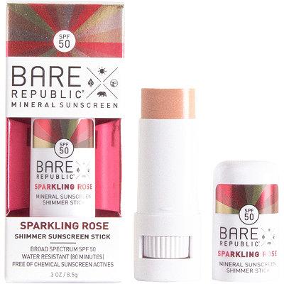 Sparkling Rose Shimmer Sunscreen Stick SPF50