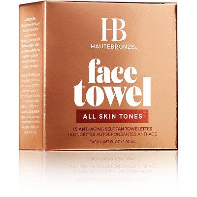 Face Towel Anti-Aging Self Tan Towelettes