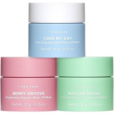 I Dew Care Mini Scoops Wash-Off Mask Set