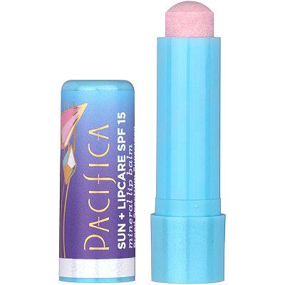 Sun + Lipcare Mineral Crystal Shimmer Lip Balm SPF 15
