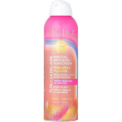 Sun + Skincare Mineral Bronzing Pineapple Flower Sunscreen SPF 30