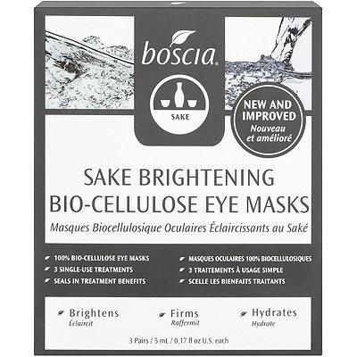 Sake Brightening Bio-Cellulose Eye Masks