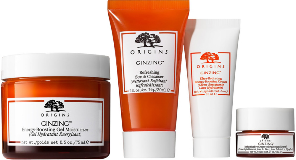 origins skin care ginzing