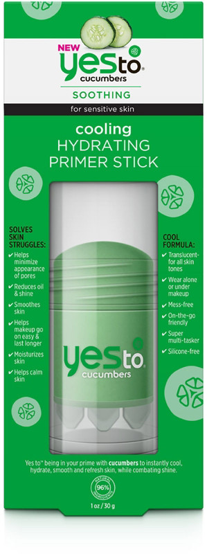 Cucumbers Cooling Hydrating Primer Stick by yes to #3