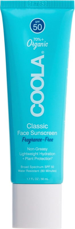 Classic Face Sunscreen Spf50 Unscented by Coola