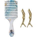 Wet Brush Teal Swirl Flex Brush Set