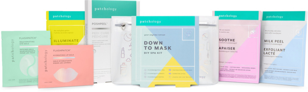 Online Only Down To Mask Diy Spa Kit by Patchology