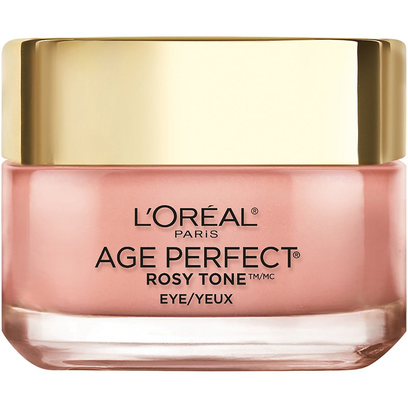 L'Oréal Age Perfect Rosy Tone Anti-Aging Eye Brightener Paraben Free | Ulta  Beauty