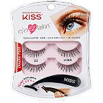 Kiss Ever EZ Lashes Double Pack #02