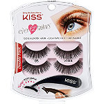Kiss Online Only Ever EZ Lashes Double Pack #05