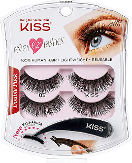 3935c5a5707 Kiss Online Only Ever EZ Lashes Double Pack #05 | Ulta Beauty