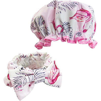 Headband and Shower Cap Set