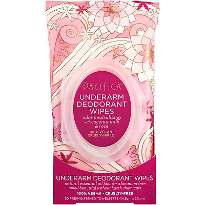 Rose Underarm Deodorant Wipes
