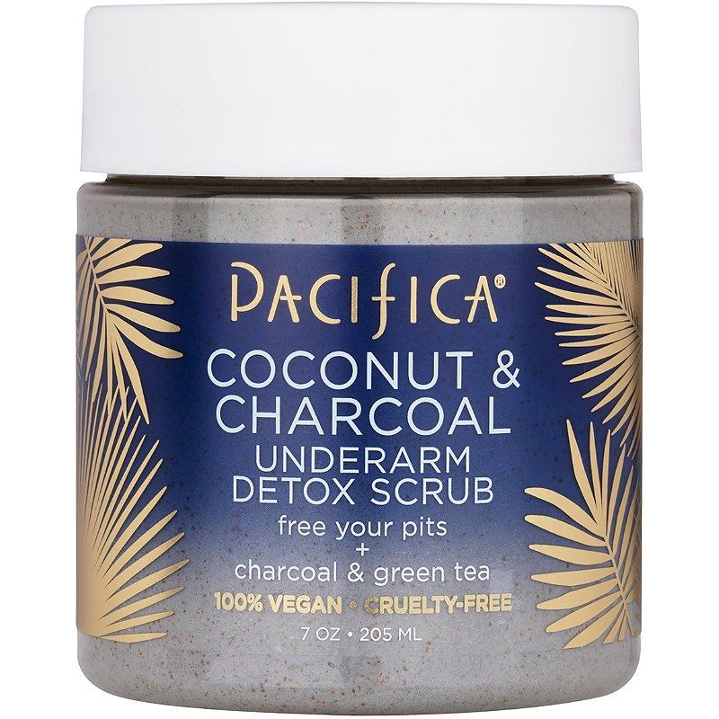 Pacifica Coconut & Charcoal Underarm Detox Scrub | Ulta Beauty