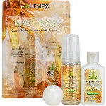 Hempz Citrine Crystal & Quartz Mini Body Collection