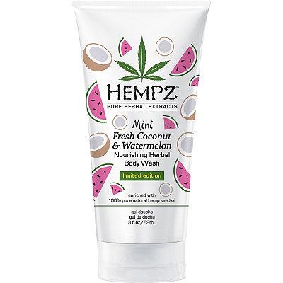 Travel Size Fresh Coconut & Watermelon Nourishing Herbal Body Wash