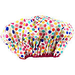 Lulu Beauty Deco Dots Shower Cap