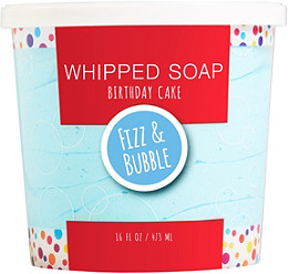 Fizz Bubble Birthday Cake Whipped Soap