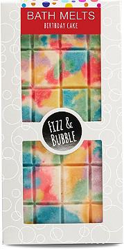 Fizz Bubble Birthday Cake Candy Bar Bath Melt