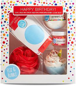 Fizz Bubble Happy Birthday Gift Box