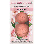 Love Beauty and Planet Murumuru Butter & Rose Bouquet Bath Bombs