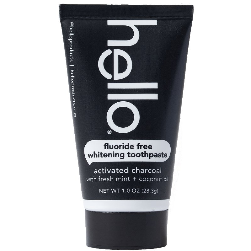 Hello Activated Charcoal Fluoride Free Whitening Toothpaste Ulta