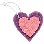 Sweet & Shimmer Sponge Heart