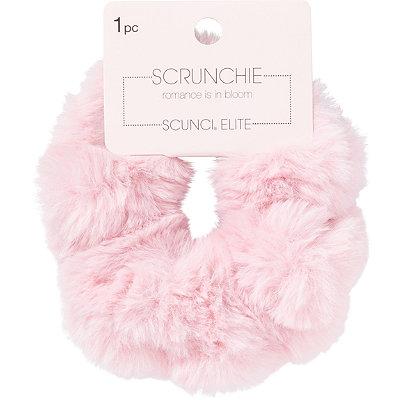 Blush Fur Elite Scrunchie