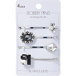 Scünci Stone Bobby Pins 4 Pieces