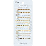 Scünci Gold Bobby Pin Set 12 Pieces