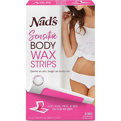 Sensitive Body Wax Strips