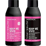Matrix FREE Keep Me Vivid Mini Shampoo & Conditioner w/any $25 Matrix purchase